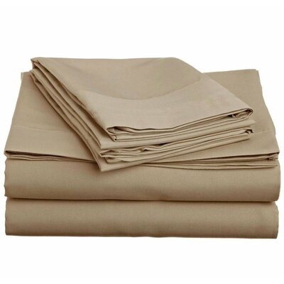 Off To Bed 4 Piece Twin Sheet Set Colour: Twin XL