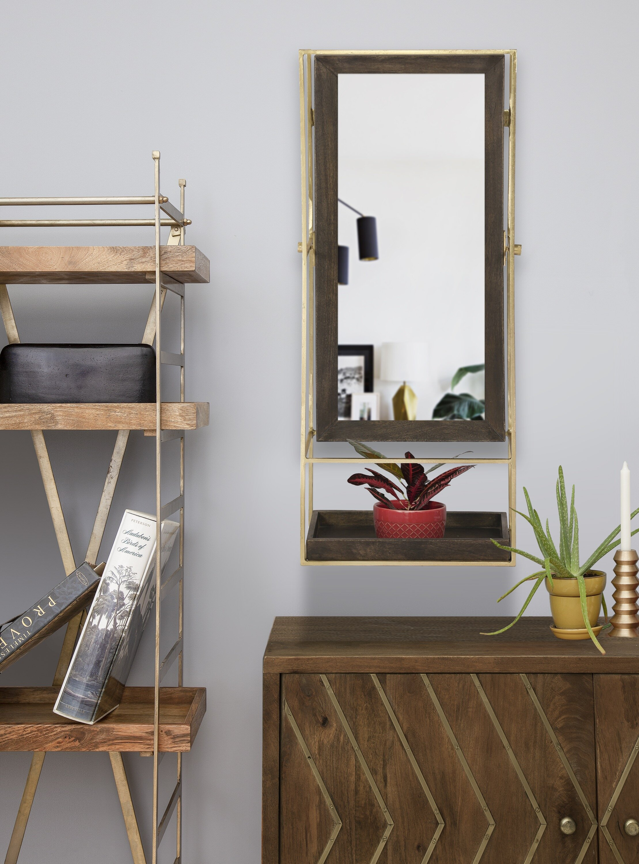 Avebury Modern Contemporary Wall Mirror