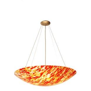 Meyda Tiffany Topazio 4-Light Bowl Pendant