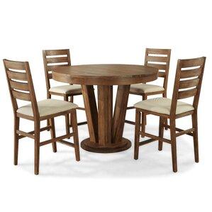 Ciera 5 Piece Dining Set by Union Rustic