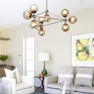 Modern Living Room Light Fixtures lighting   allmodern