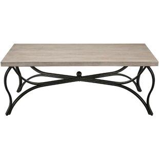 Check Prices Macon Wood and Metal 3 Piece Coffee Table Set ByFleur De Lis Living