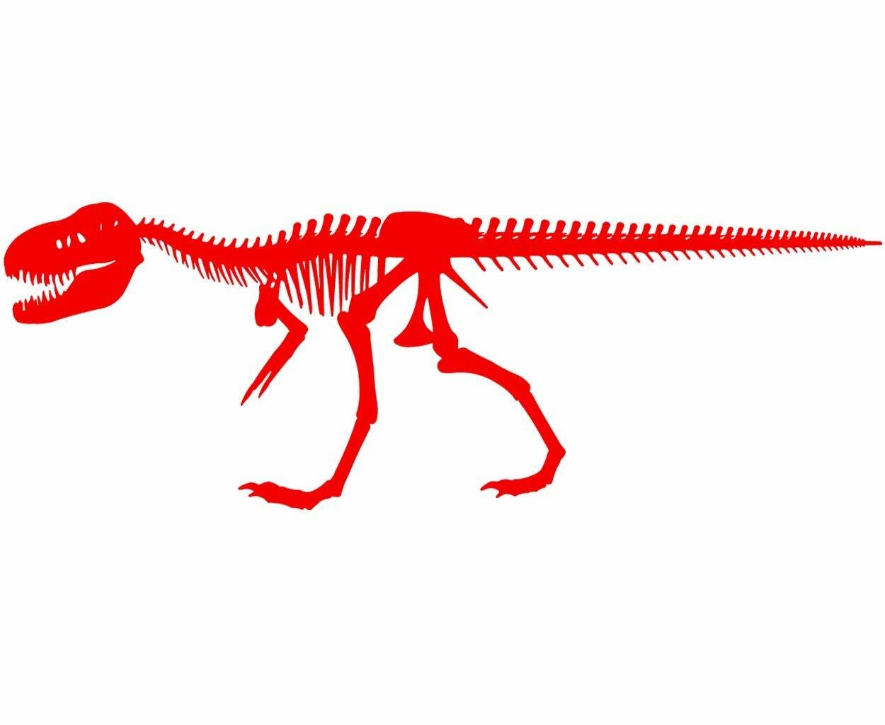 Isabelle Max Alvie Dinosaur Skeleton For Boys Room T Rex Skeleton Wall Decal Reviews