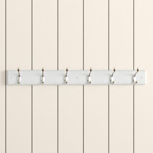 Sundown Wall Mounted Coat Rack With 6 Hooks By Brambly Cottage