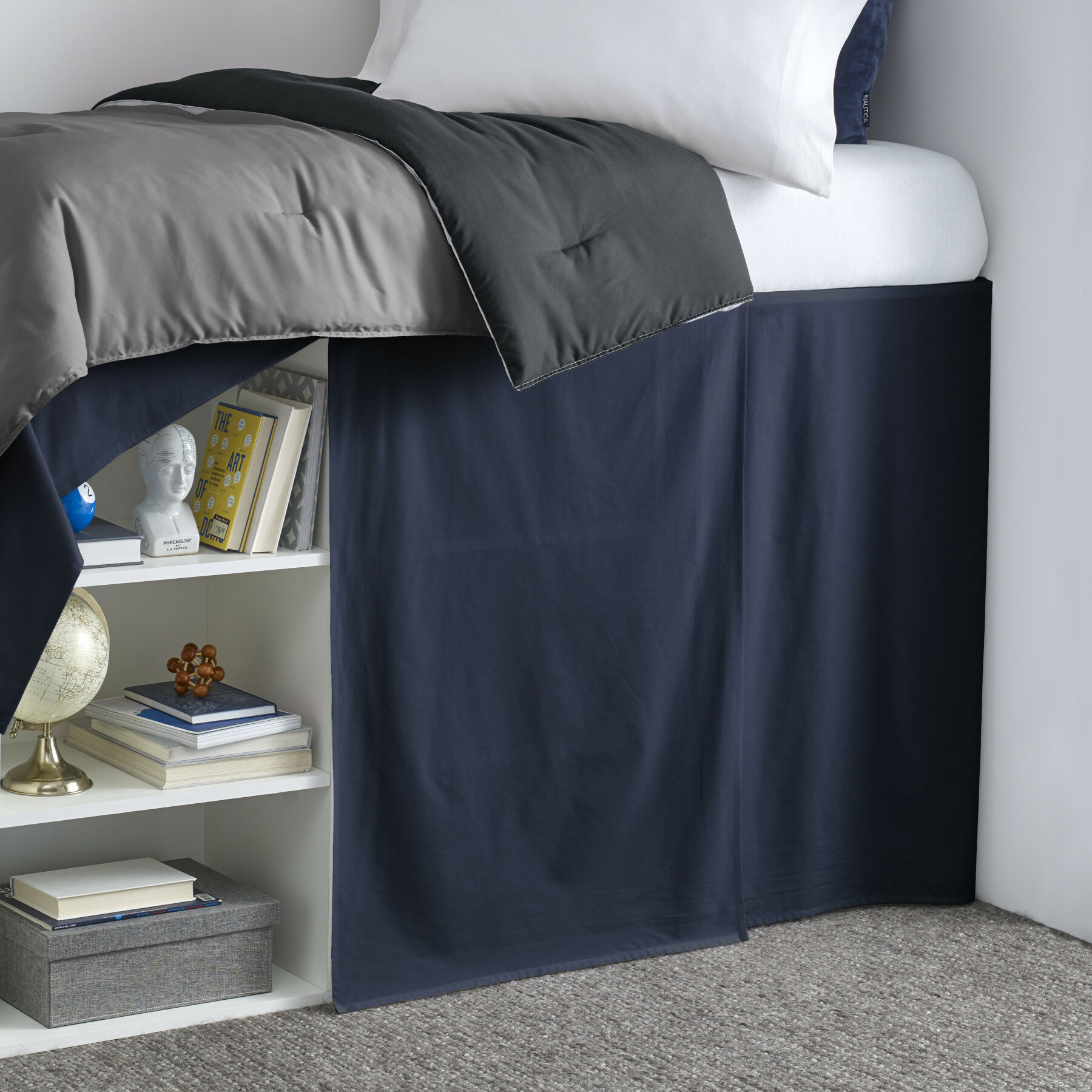 Nautica Cotton 42 Bed Skirt Wayfair