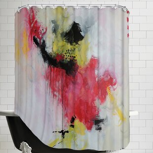 Crazy Rose Single Shower Curtain