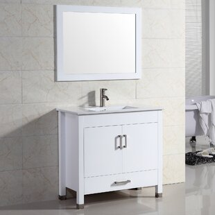 Vidya 30 Single Bathroom Vanity Set with Mirror