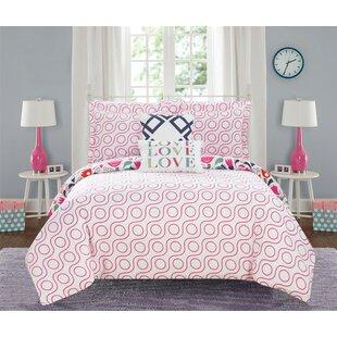 Aubrianna Reversible Comforter Set