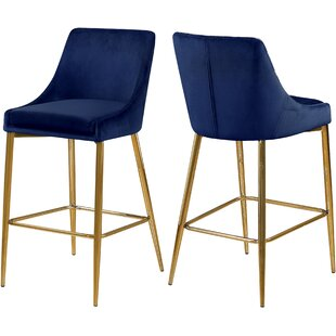 Affordable Paluch 27.5 Bar Stool (Set of 2) by Orren Ellis Reviews (2019) & Buyer's Guide