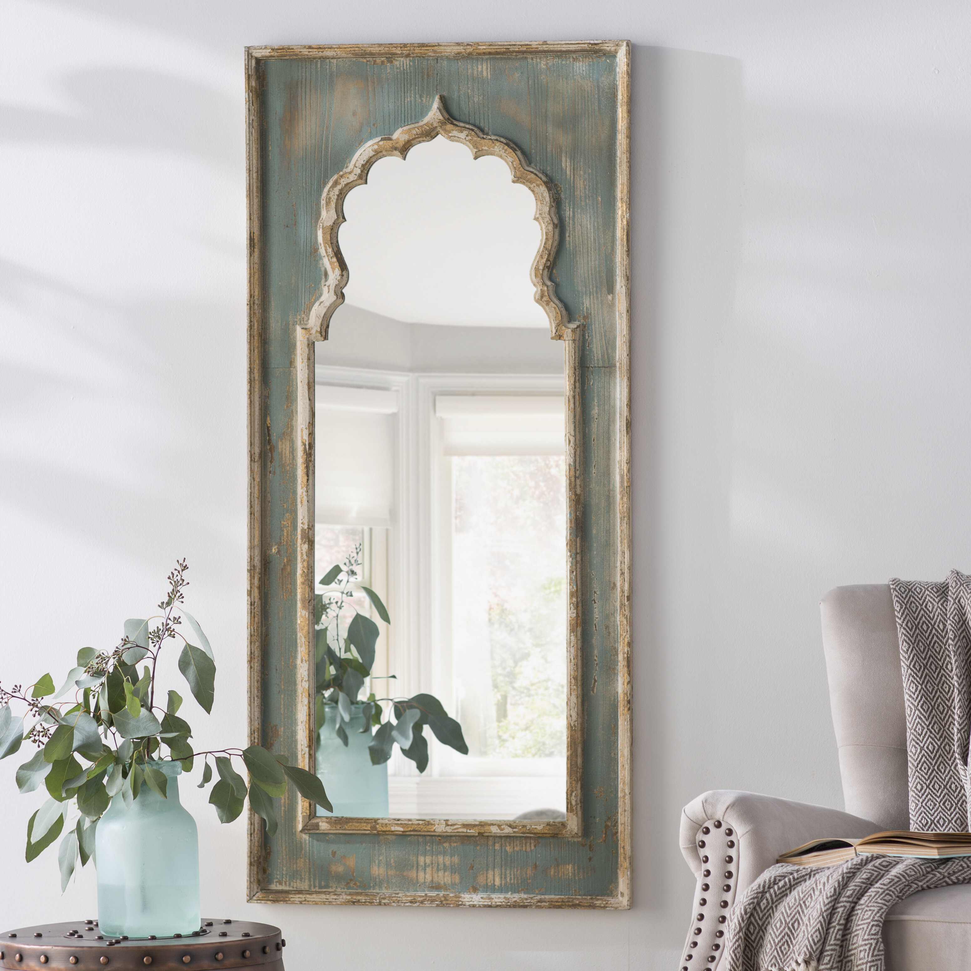 Gold Large Oversized Floor Mirrors You Ll Love In 2021 Wayfair