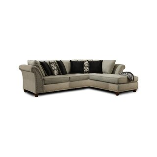 Crum Right Hand Facing Sectional by Charlton Home
