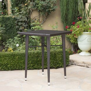 Hartwick Outdoor Wicker Bar Table