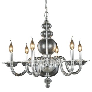Rosdorf Park Elissa 6-Light Chandelier