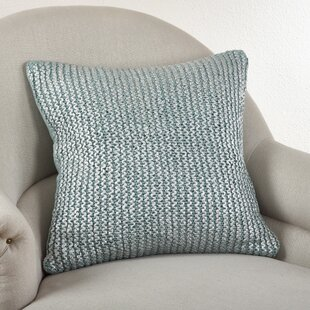 Hiran Knitted Cotton Throw Pillow