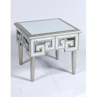 Reviews Theon End Table by Mercer41