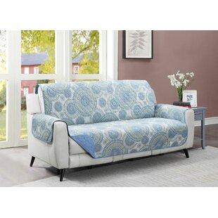 Starburst Box Cushion Sofa Slipcover By Winston Porter