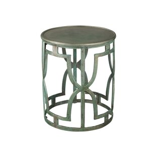 Warrick Drum End Table by House of Hampton