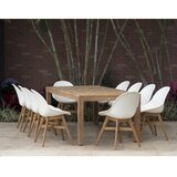 Cruce 11 Piece Teak Dining Set