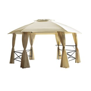 Lima 4.8m X 4.8m Steel Permanent Gazebo By Sol 72 Outdoor