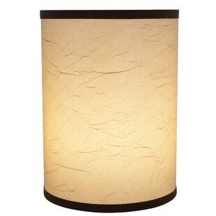 Drum Clip-On Construction Linen Lamp Shade by Fleur De Lis Living