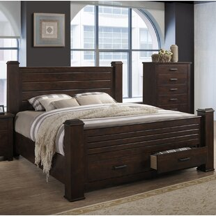 Millwood Pines Forst Storage Panel Bed