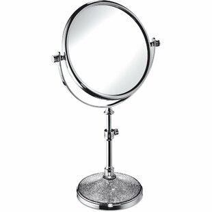 Compare prices Patrice Makeup/Shaving Mirror ByRosdorf Park