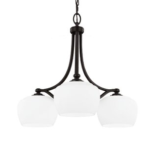 Darby Home Co Eyers 3-Light Shaded Chandelier