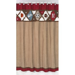 Looking for All Star Sports Shower Curtain BySweet Jojo Designs