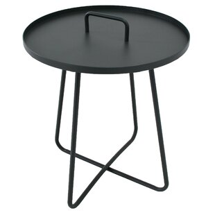 Battleford Aluminium Side Table By 17 Stories