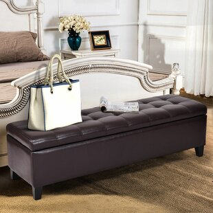 Malakai Wood Storage Bedroom Bench by Winston Porter