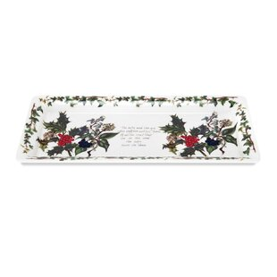 The Holly And The Ivy Serving Tray By Portmeirion