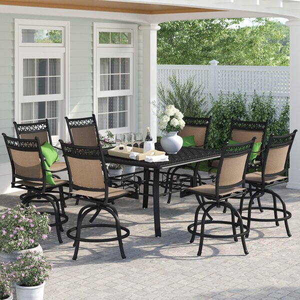 Swell Counter Height Patio Table Set Wayfair Pdpeps Interior Chair Design Pdpepsorg