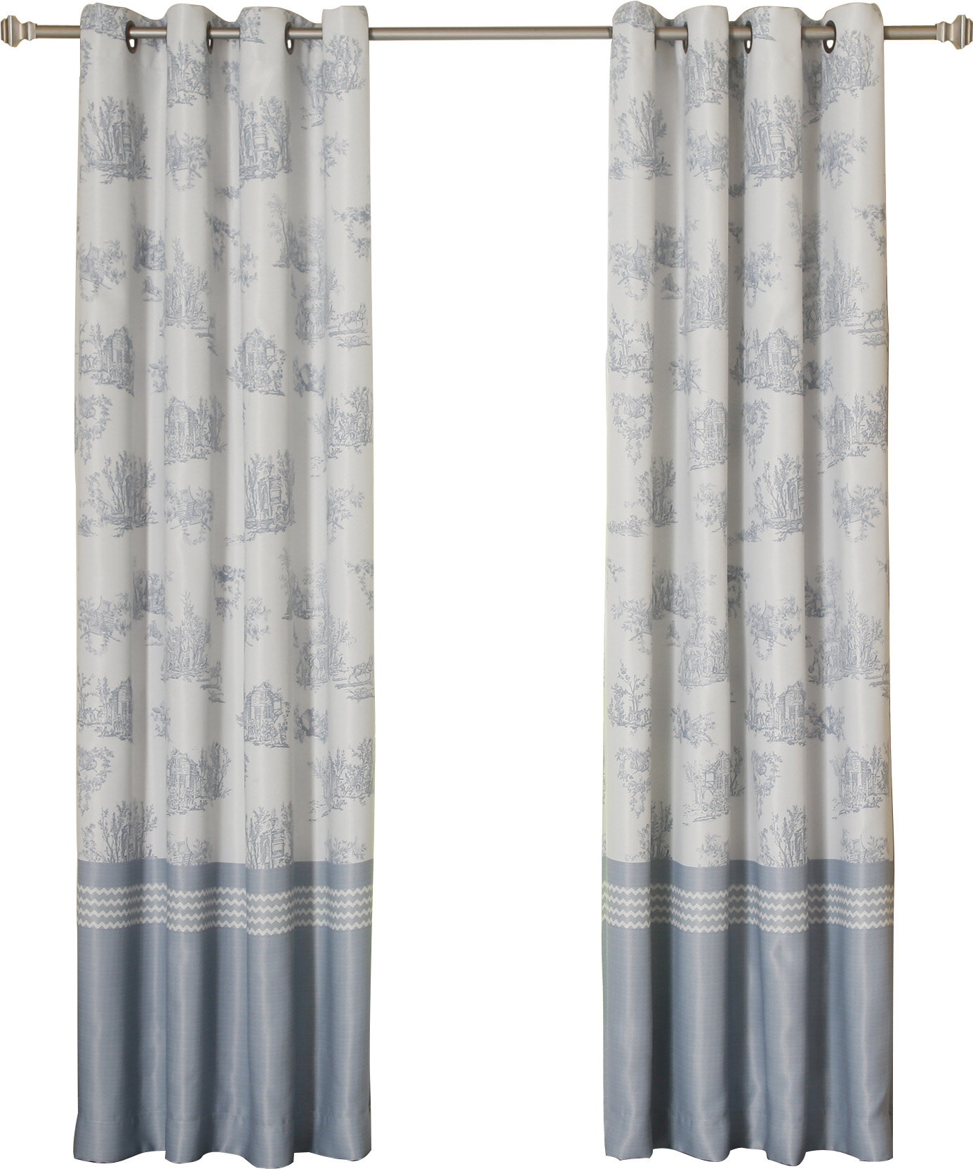 Grommet Toile Curtains Drapes You Ll Love In 2021 Wayfair