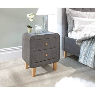 Charlotte 2 Drawer Bedside Table By Norden Home