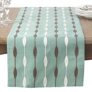 Atropos Modern Embroidery Table Runner