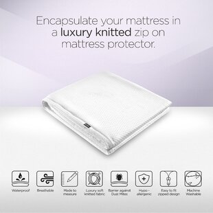Jay-Be Supreme Washable Mattress Protector, Single By Jay-Be