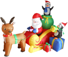christmas inflatables - Outdoor Christmas Inflatable Yard Decorations