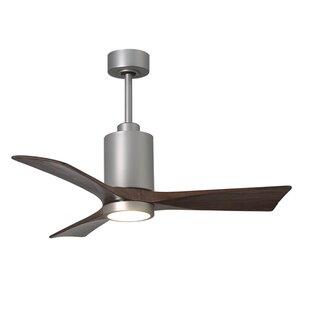 Casablanca fan 54 bullet 4 blade ceiling fan wayfair 42 patricia 3 blade ceiling fan with wall remote aloadofball Gallery
