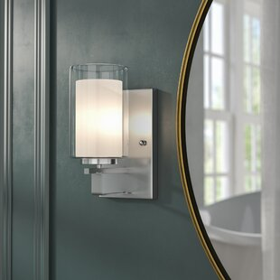 Demby 1-Light Bath Sconce by Ebern Designs