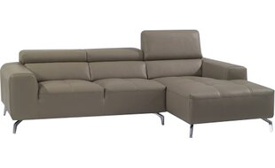 Orren Ellis Alden Leather Sectional