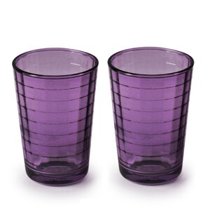 Ezzell Juice 7 oz. Glass Every Day Glass (Set of 8)