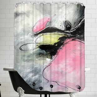 Motus Et Bouche Cousue Single Shower Curtain