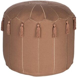 Bungalow Rose Media Global-Inspired Pouf