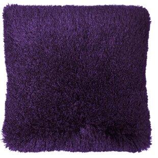 Brick Shaggy Indoor/Outdoor Throw Pillow
