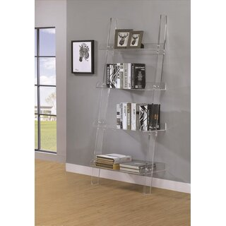 Anadarko Acrylic Wall Ladder Bookcase by Mercer41 SKU:AB679876 Description