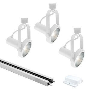 Jesco Lighting Classic Series 3-Light Line Full Track Kit