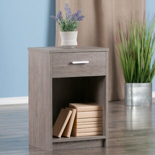 Crary End Table with Storage by Ebern Designs