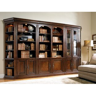 European Renaissance II Oversized Library Bookcase by Hooker Furniture Best #1