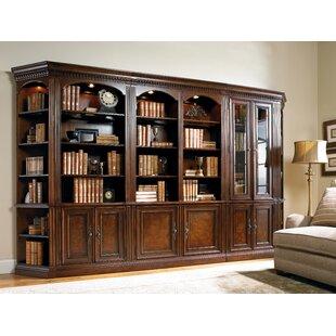 European Renaissance II Oversized Library Bookcase by Hooker Furniture