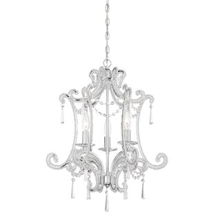 House of Hampton Dowty 3-Light Candle Style Chandelier